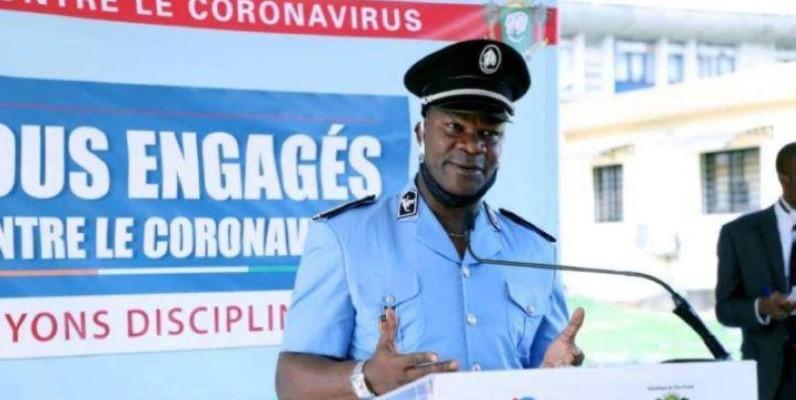 Commissaire principal Bleu Charlemagne, porte-parole de la Police nationale. (DR)