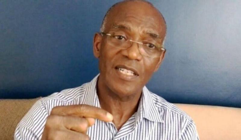 Mamadou Koulibaly, maire de la commune d'Azaguié. (DR)
