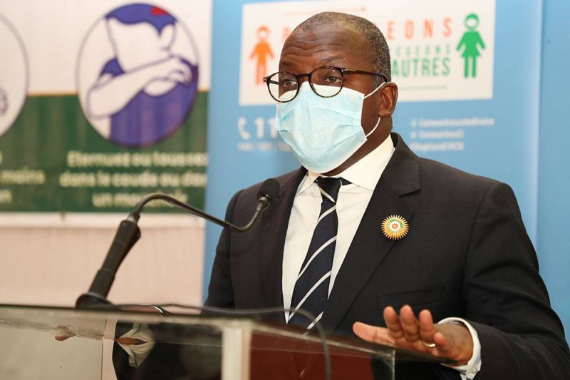 Eric N'Koumo-Mobio, maire de Songon. (DR)