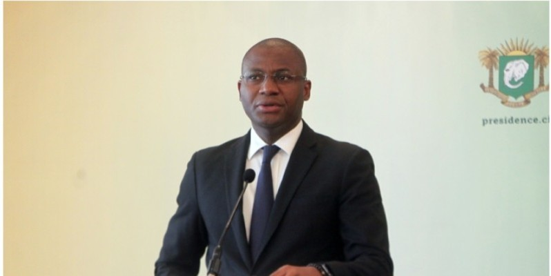 Sidi Tiémoko Touré, ministre de la Communication et des Médias. (DR)