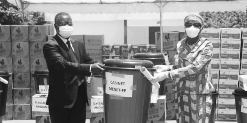 Kandia Camara a tenu à marquer l'engagement de son département auprès de ses structures. (DR)
