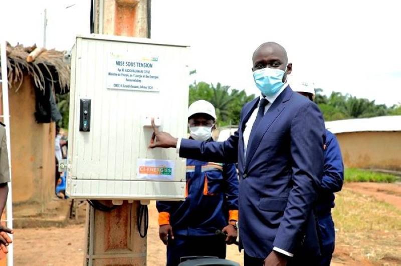 Abdourahmane Cissé, ministre du pétrole, de l'énergie et des énergies renouvelables. (DR)