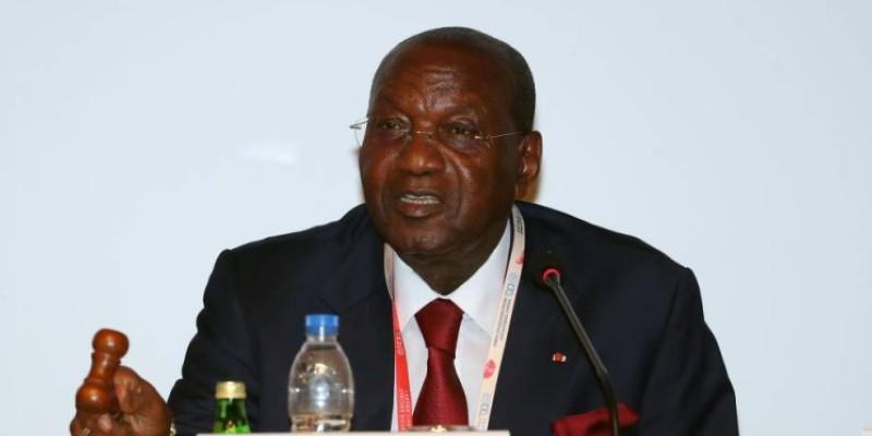 Le ministre Abinan Kouakou est hospitalisé depuis la nuit du 1er au 2 mai 2020. (Dr)