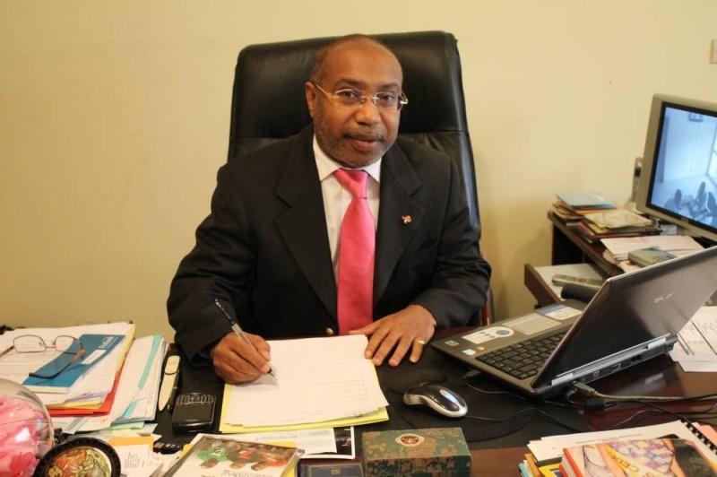 Victor Yapobi, président de l'Association des promoteurs de spectacle de Côte d'Ivoire (Aprosci). (DR)