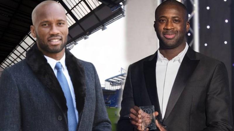 Yaya Touré apporte son soutien à Didier Drogba, candidat à la présidence de la Fif
