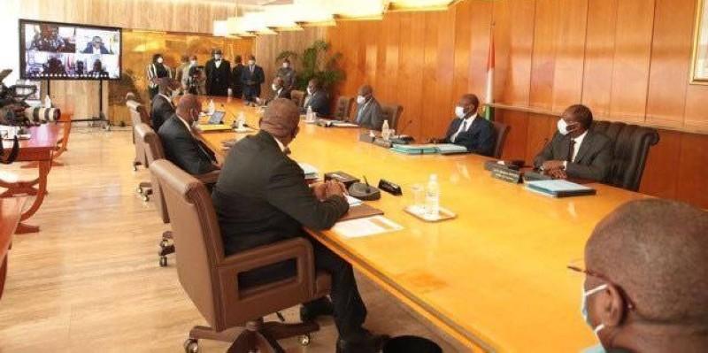 Le Conseil des ministres avaient à son ordre du jour outre la lutte contre le coronavirus, la construction de l'autoroute de contournement Y4