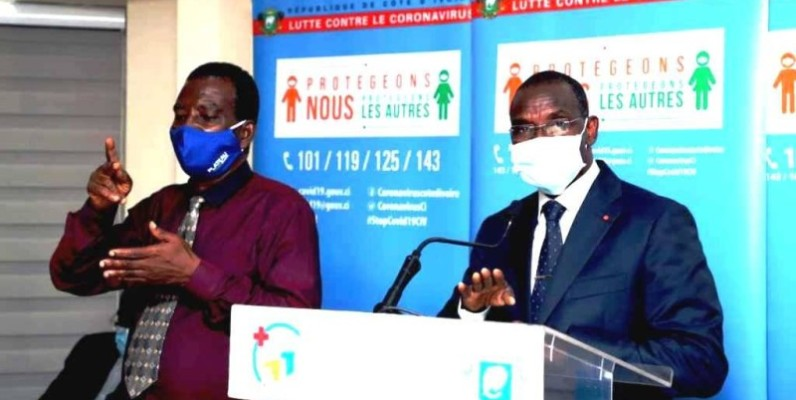 Le ministre de la Sécurité et de la Protection civile, Vagondo Diomandé. (Photo : Dr)