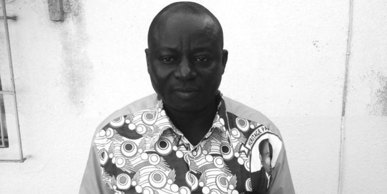 Le délégué départemental Adjé Kouadio Frédéric.. (DR)