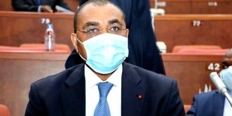 Adama COULIBALY, ministre de l'économie et des finances. (Dr)