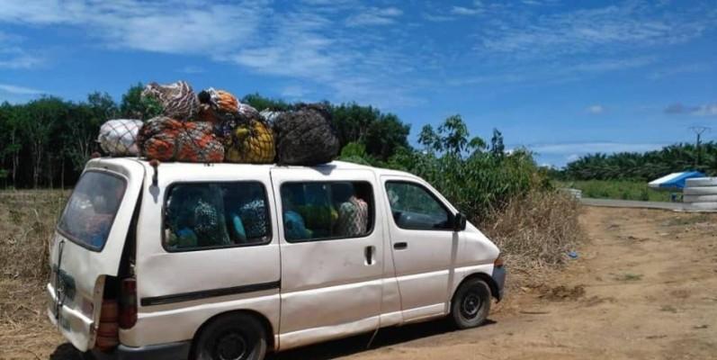 Une vue d'un des vehicules. (DR)