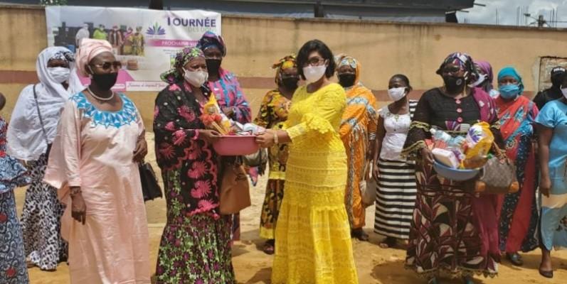 Mme Cissé Bacongo a sensibilisé les femmes à l'autonomisation et à l'émancipation. (DR)