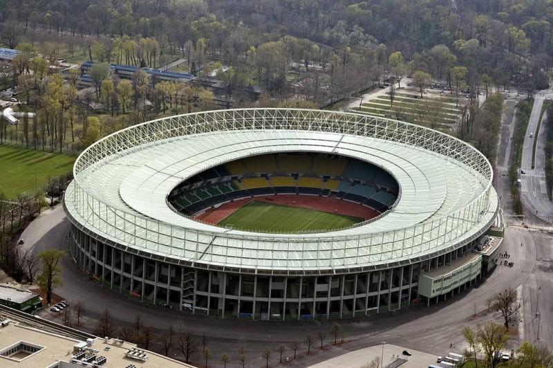 Une vue d'un terrain de football. (DR)