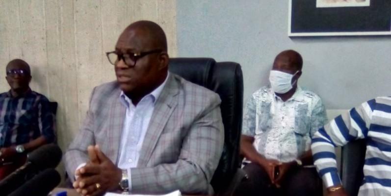 Touré Ahmed Bouah, promoteur du projet Akwaba City et président directeur général de Sophia SA. (Franck YEO)