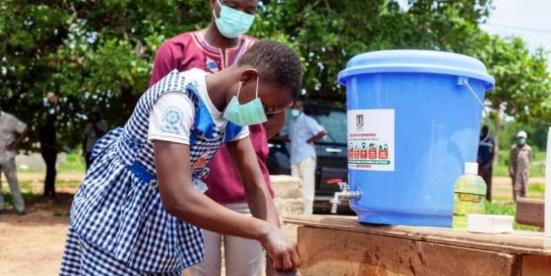 Enseignants et élèves prêts à faire barrière au Coronavirus. (DR)