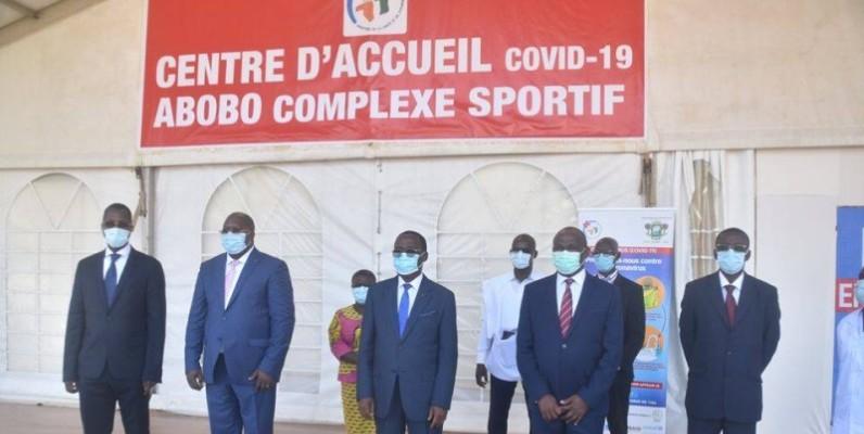 centre dépistage covid d'Abobo