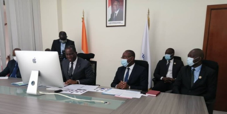 Le président de l'Apf et ses pairs de l'organe ont fait le tour de la crise sanitaire dans la région et des propositions pour mieux protéger l'espace.(DR)