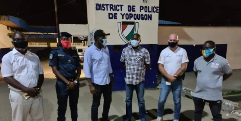 Les patrons d'entreprises de sécurité saluent l'accueil que leurs ont reservé les officiers de polices. PH DR. (DR)