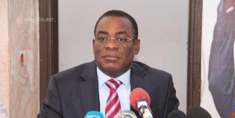 Pascal Affi N'Guessan, président du Fpi. (DR)