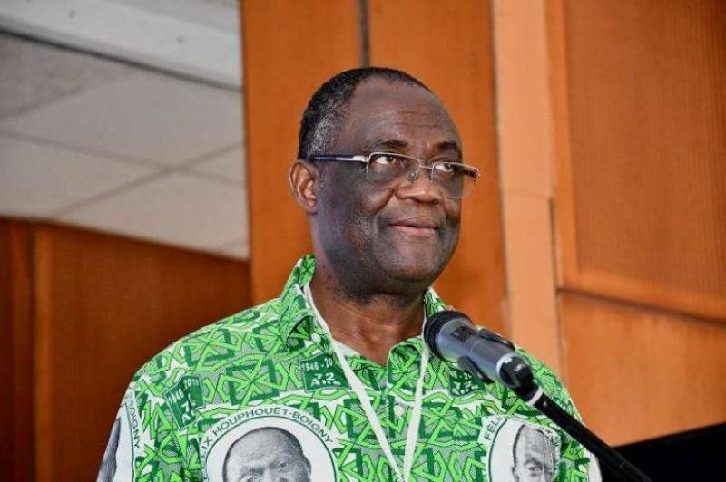 Le secrétaire exécutif en chef du PDCI, Maurice Guikahué
