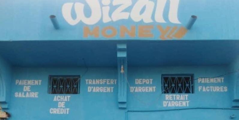 Une vue d'une agence Wizwall money. (DR)
