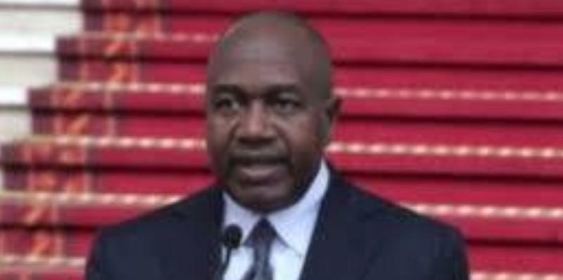 Issa Diakité, ministre en charge de l'administration du territoire. (Dr)