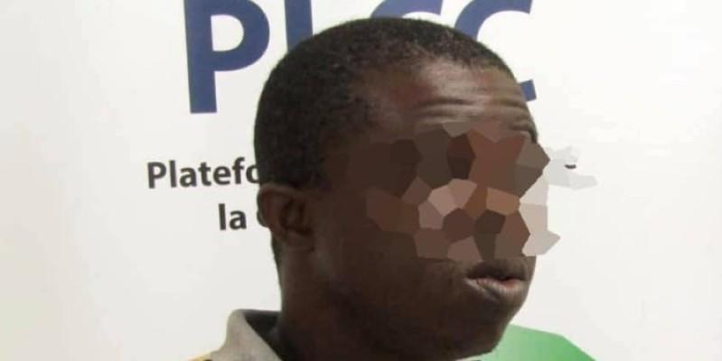 Serge Koffi Le Drone est passible d'une peine pouvant aller jusqu'à 20 ans. (Dr)