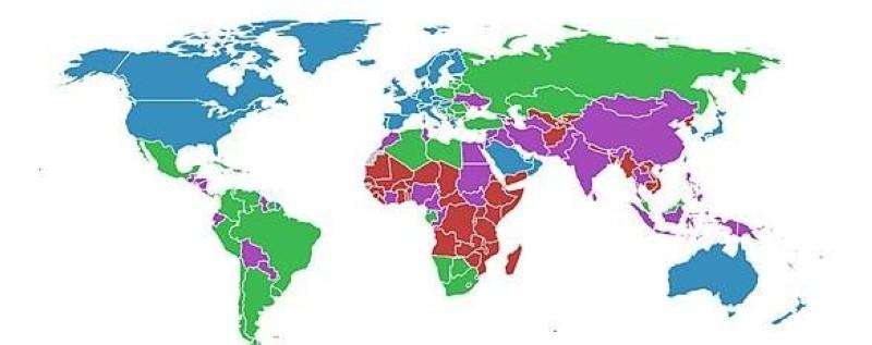 Les pays en développemnent. (DR)
