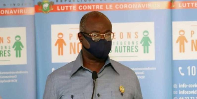 Jean-Paul Koua Amethier, maire de Bonoua. (DR)