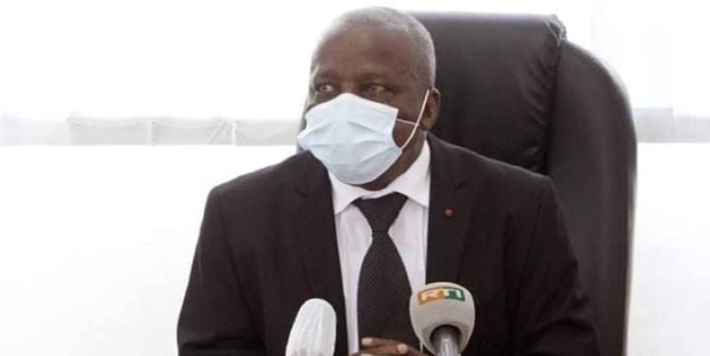Albert Flindé, ministre de l'Intégration africaine et des Ivoiriens de l'extérieur. (DR)