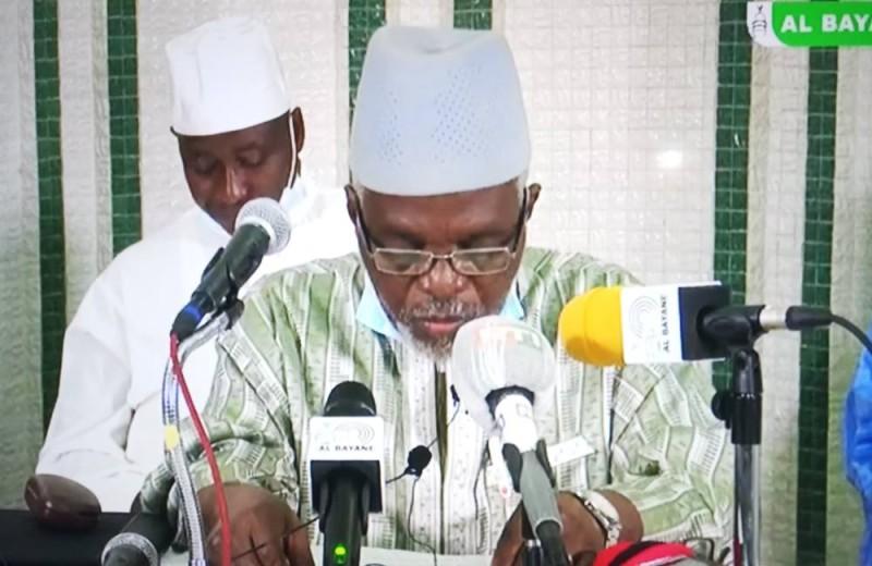 L'Imam Sekou Sylla, porte-parole de la communauté musulmane