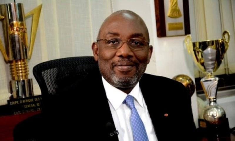 Augustin Sidy Diallo, président de la  Fif. (DR)