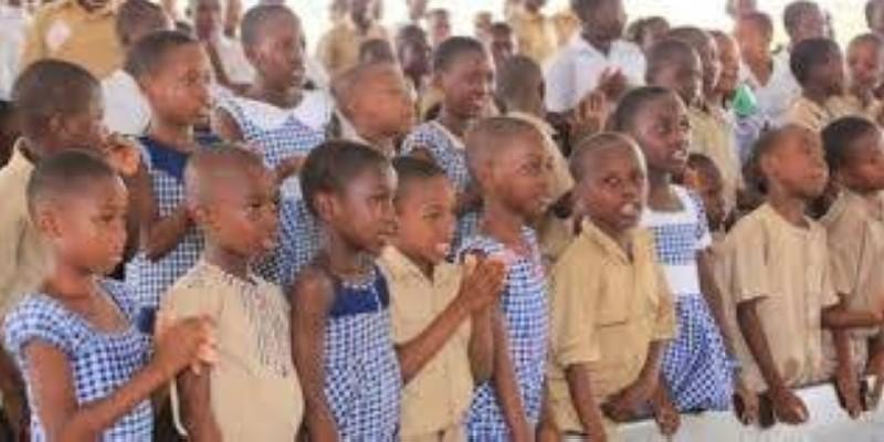 Une vue des élèves du primaire. (DR)