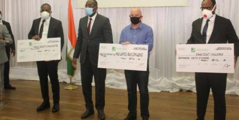 Bernabé CI, Tôles Ivoire SA et Manutention Climatisation Technique (MCT) sont les trois premières entreprises à avoir bénéficié du Fonds de soutien aux grandes entreprises. (Dr)