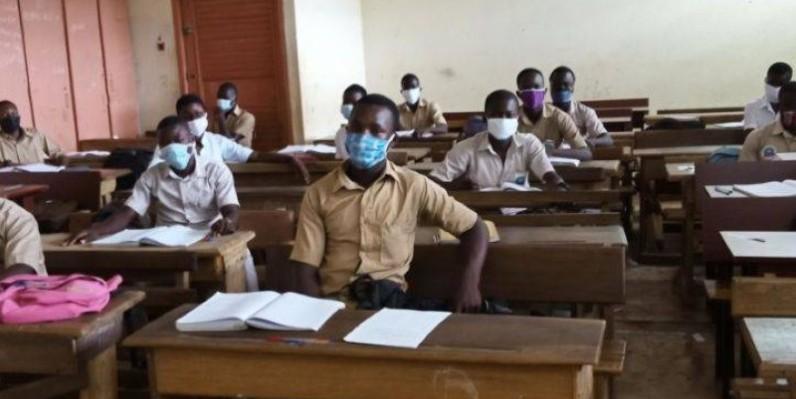 Une vue des élèves à la reprise des classes. (DR)