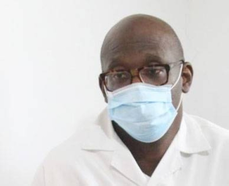 Dr Diarrassouba Gnenefoly, collaborateur du Pr Adonis Koffi (Sébastien Kouassi)