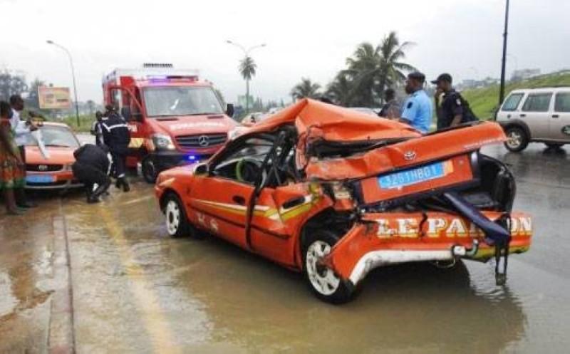 Un accident de circulation. (DR)