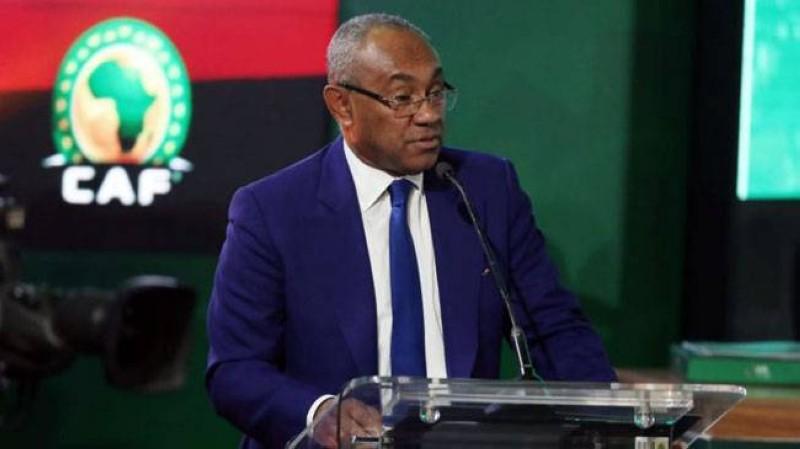 Ahmad, président de la Confédération africaine de football. (DR)