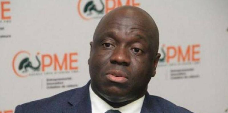 Saliou Bamba, Directeur général de l'Agence Côte d'Ivoire Pme. (Dr)
