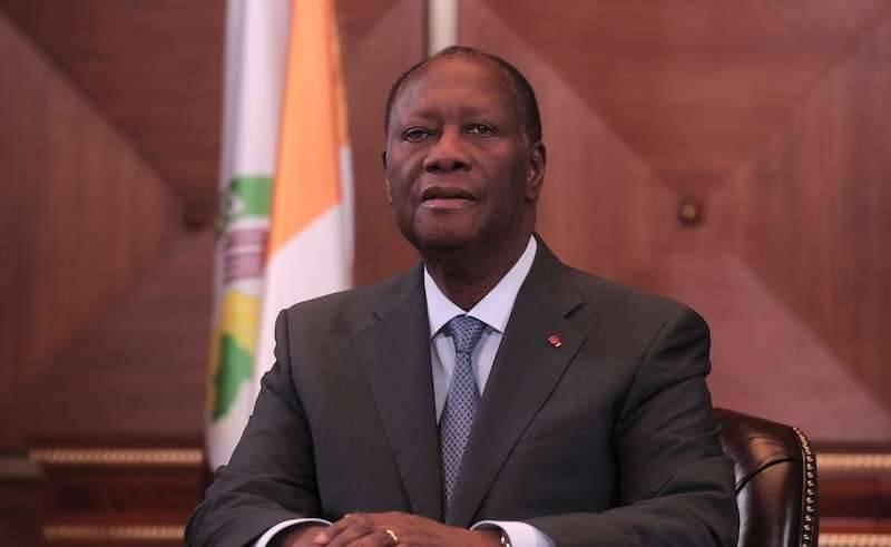 Le Président Alassane Ouattara. (DR)