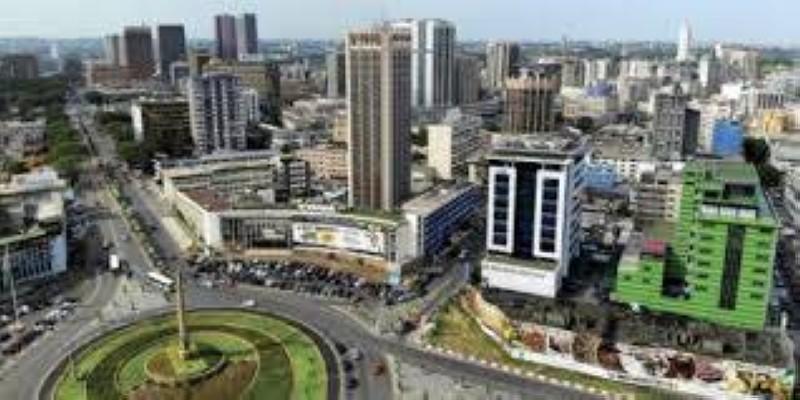 La ville d'Abidjan reste isolée de l'interieur du pays. (DR)