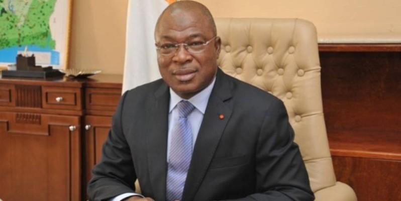 Le général Issa Coulibaly, ministre ivoirien de la fonction publique. (DR)