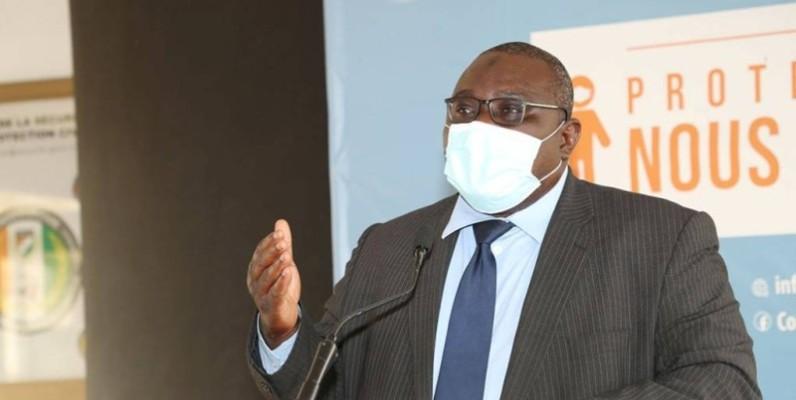 Hermann Nicoué, secrétaire exécutif du fonds d'appui aux acteurs du secteur informel. (DR)