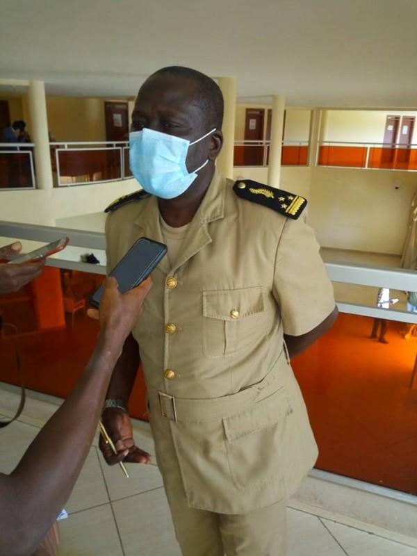 le préfet Sihindou Coulibaly appelle au respect des mesures barrières (DR)