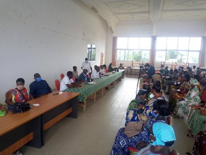 Les femmes d'Agbovillde invitées à se faire enrôler (DR)