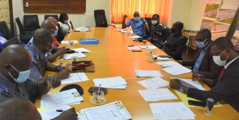 Une vue des membres de la Commission. (DR)