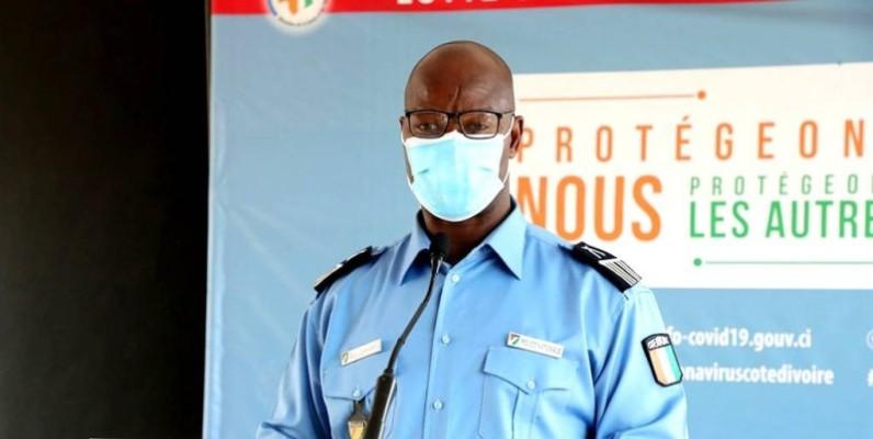 Le commissaire principal Charlemagne Bleu, porte-parole de la Police nationale. (DR)