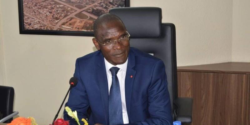 Le ministre Vagondo Diomandé. (DR)