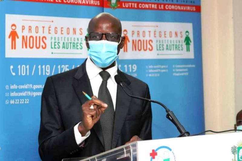 Adama Diawara, ministre de l'enseignement supérieur et de la recherche scientifique. (DR)