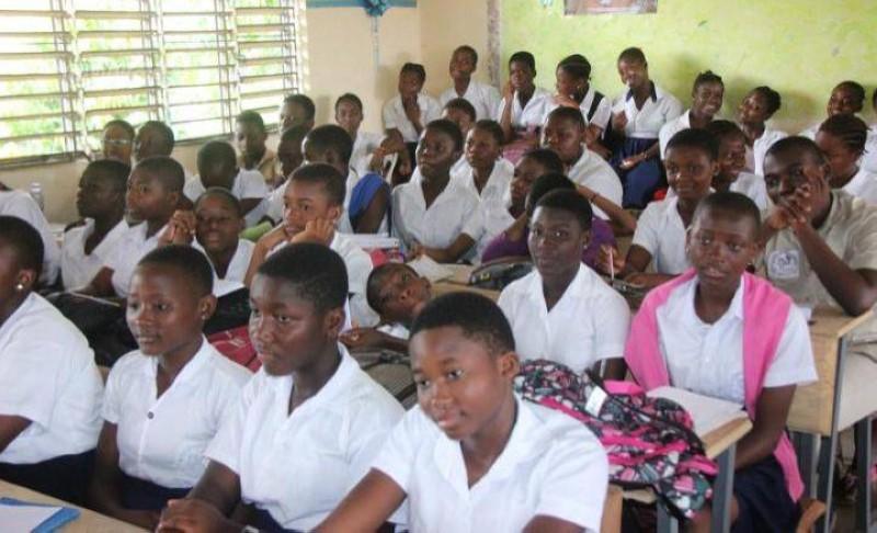 La crise de la Covid-19 a rendu vulnérables les jeunes filles du fait de la fermeture momentanée de l'école. (DR)