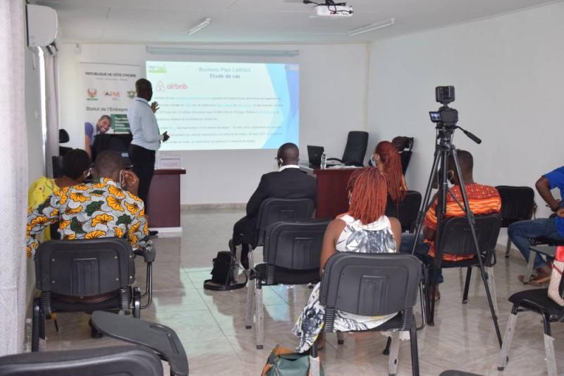 L'Agence Côte d'Ivoire Pme à San Pédro pour le renforcement des capacités de 13 TPE de l'agroalimentaire et du tourisme
